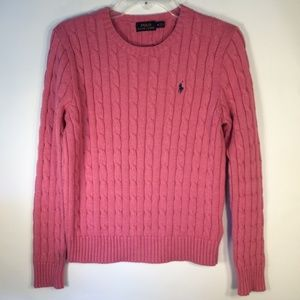 POLO by Ralph Lauren | Cable-knit Cotton Sweater